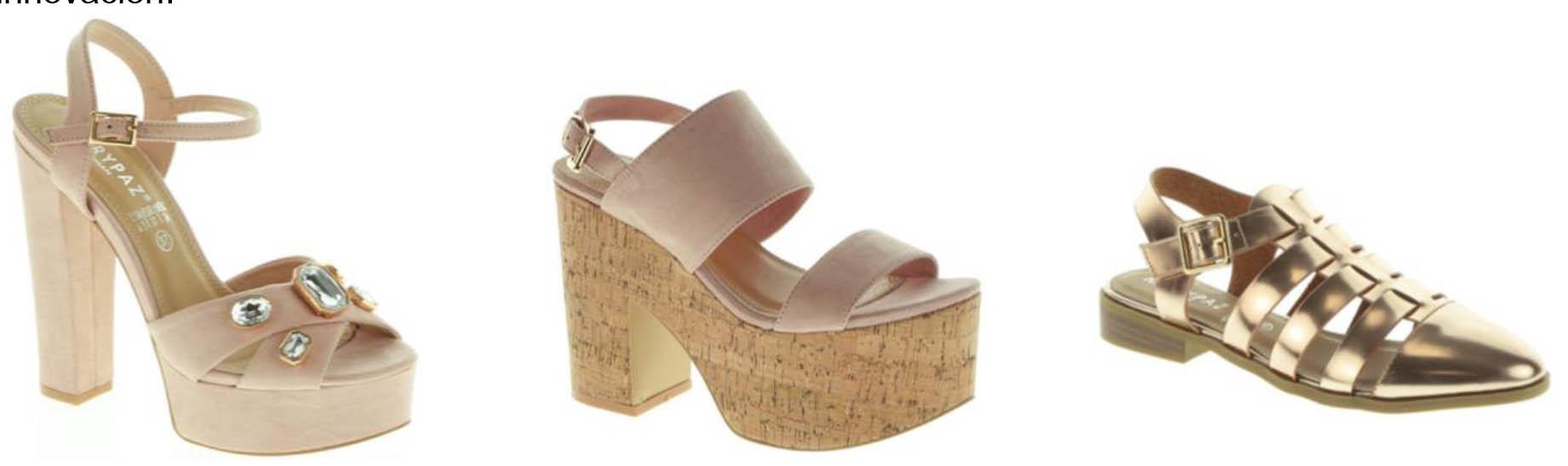 Zapatos sandalias Oro Dorados Beige Marypaz Marypaz TFKcJ3l1