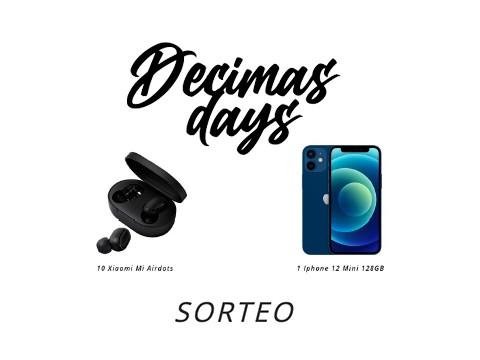 SORTEO DECIMAS DAYS