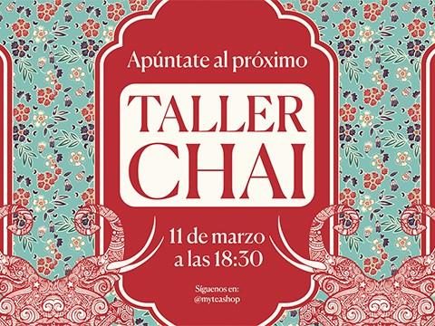 Taller Gratuito Té CHAI